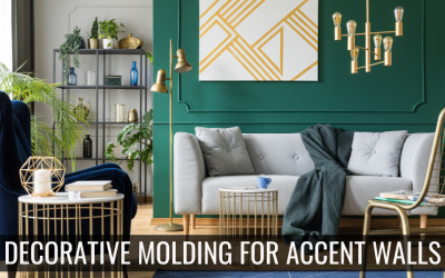 3 Types of Decorative Molding for Accent Walls